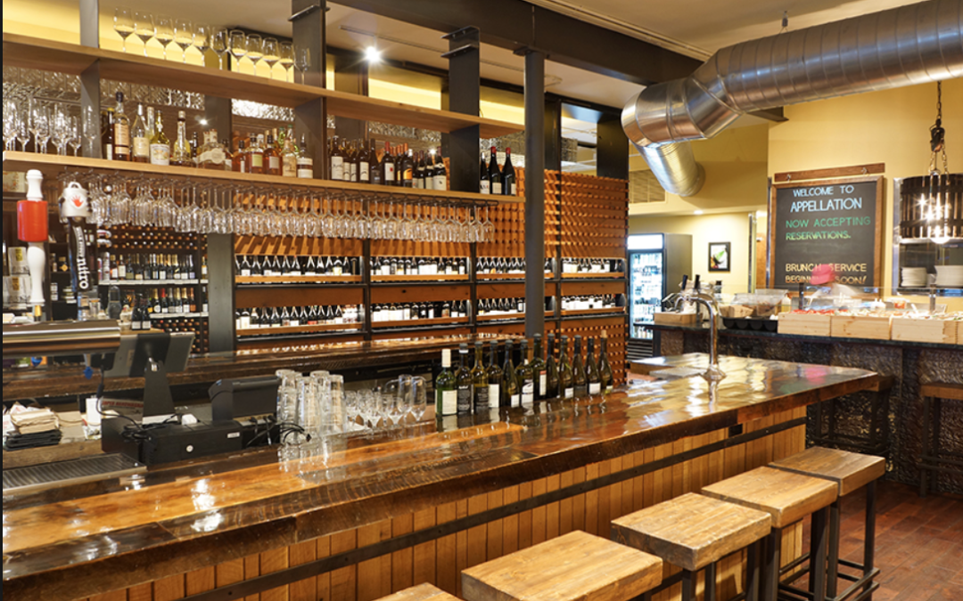 Appellation Wine Bar & Restaurant Unveils Inaugural Spring Menu and Newest Art Installation
