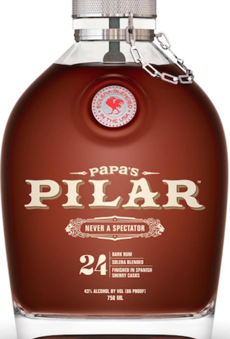 Papa's Pilar® Releases Special Edition Custom Barreled Dark Rum in Bourbon Oak for Papa's Day