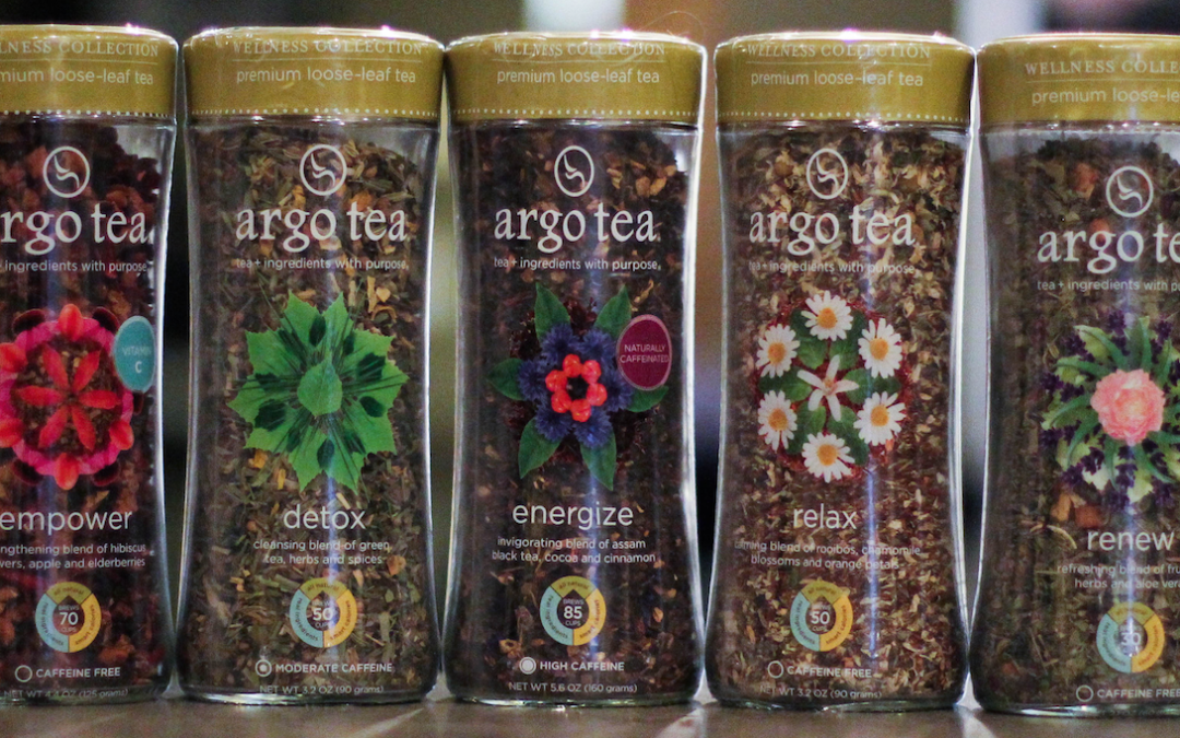 Argo Tea® Introduces Wellness Collection of Premium Loose-Leaf Teas to Help Consumers Feel Their Best