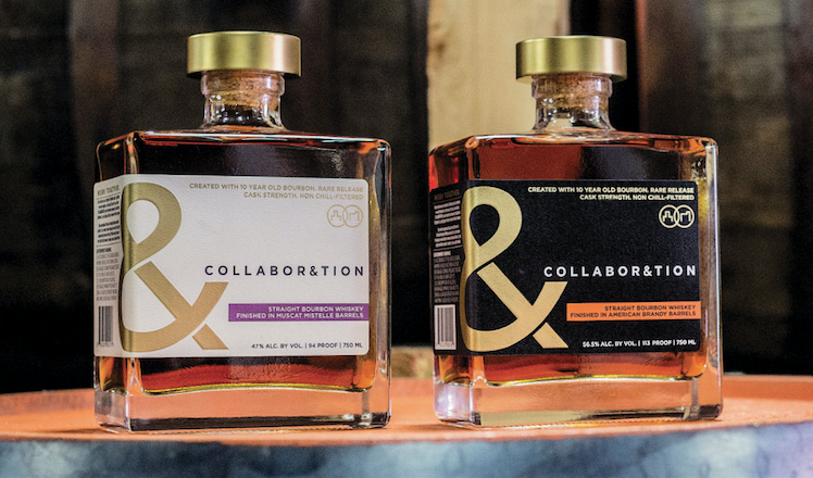 "Bardstown Bourbon Company and Copper & Kings American Brandy Company Release ""Collabor&tion"" Rare Release Bourbon"