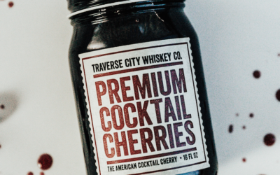 Traverse City Whiskey Co. Unveils Line of  All-Natural Premium Cocktail Cherries