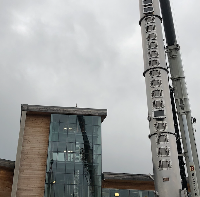 The Bardstown Bourbon Company Installs Second 50-Foot Stainless Steel Vendome Still