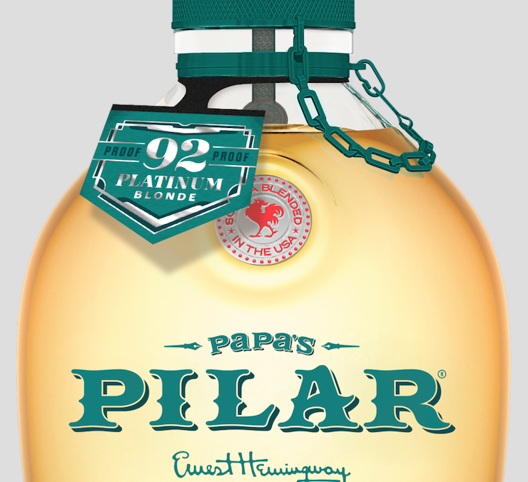 Papa's Pilar® Will Release 2,000 Cases of Platinum Blonde Limited-edition Rum in Select U.S. Markets