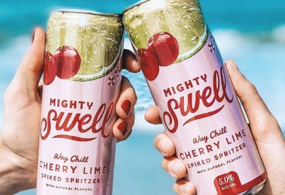 Mighty Swell Spritzer Co. Launches New Cherry Lime to its Fruit-Forward Line of Spiked Spritzers