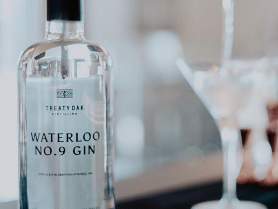 Treaty Oak's Waterloo No.9 Gin Earns Gold Medal at the 2019 San Francisco World Spirits Competition