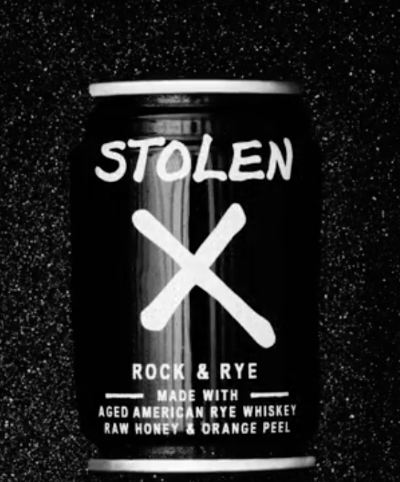 Stolen Spirits Introduces Stolen X 100ml Cans
