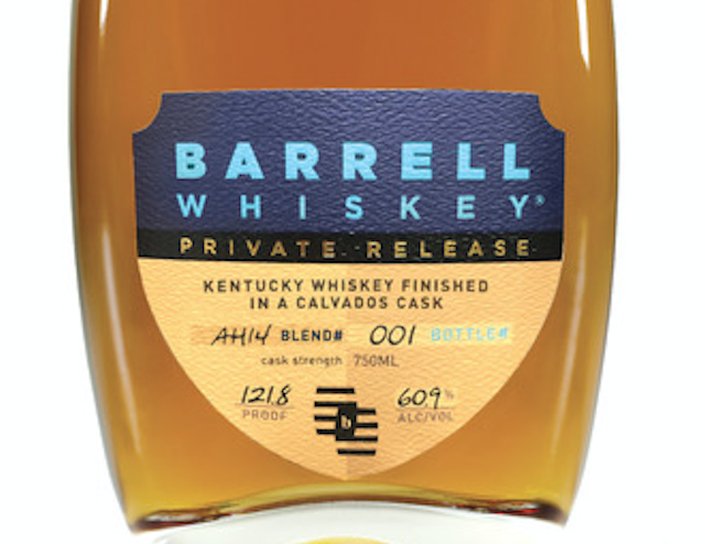Barrell Craft Spirits Launches Private Release Whiskey Series