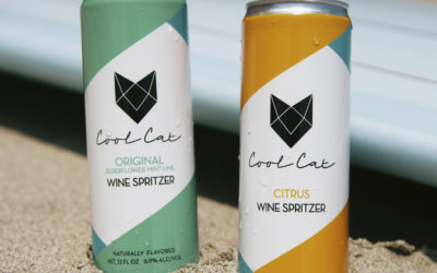 Cool Cat Launches New Pair of Naturally Flavored Wine Spritzers