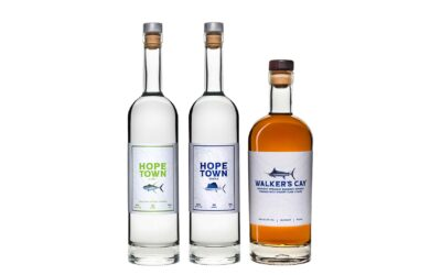 King Spirits Launches Walker's Cay Bourbon™ and Hope Town Vodka™